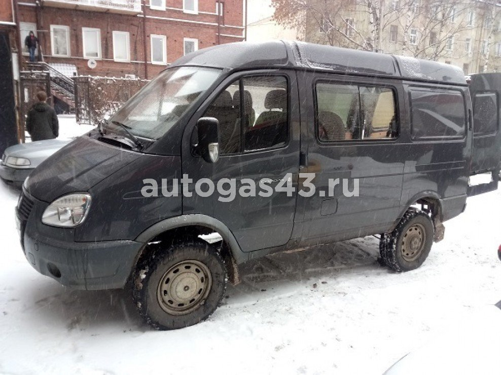 "ГАЗ 2752 Соболь 2.5 140 Hp грузопассажирский фургон ""Комби"""