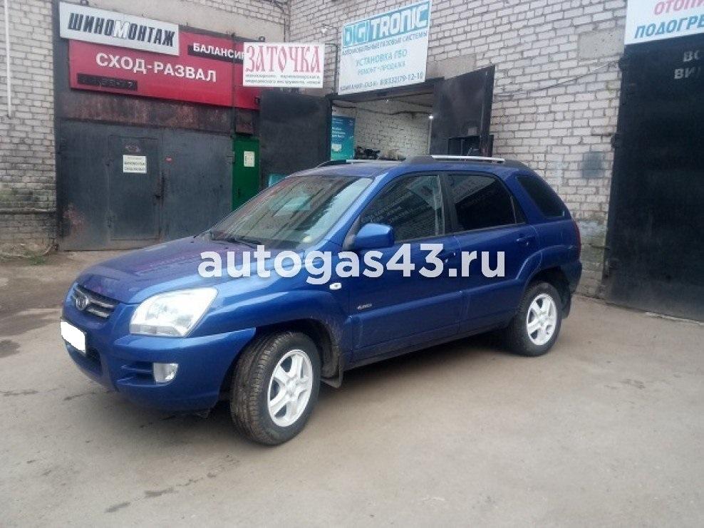 Kia Sportage II 2.7 175 Hp V6 4WD Пропан-Бутан