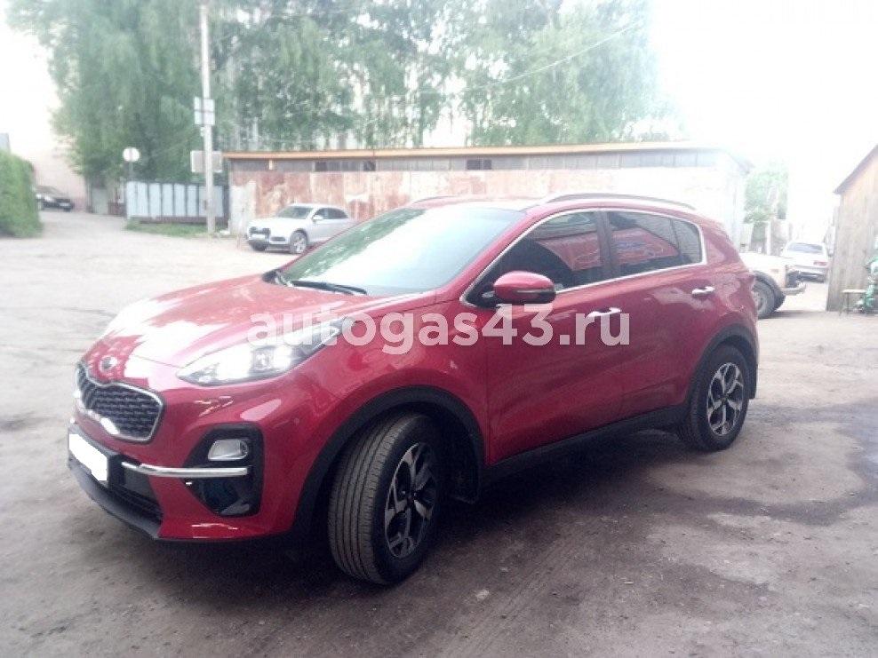 Kia Sportage IV рестайлинг 2.0 150 Hp 2018 - н.в. Пропан-Бутан